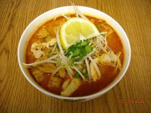 Singapore Curry Noodle Soup