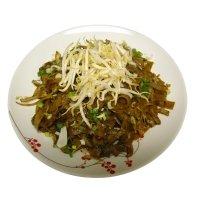 Basil flat noodle