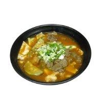 Korean Style Kimchi Noodle Soup