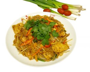 Singapore Curry Fried Noodle